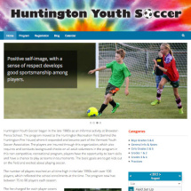 Huntington Youth Soccer website