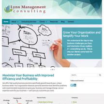 Lynn Management website