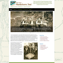 Musketeers Too website