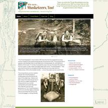 Musketeers Too website