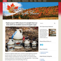 Sugartree Maple Farm website