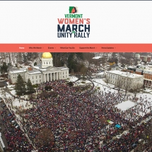 Womens March on Montpelier Website