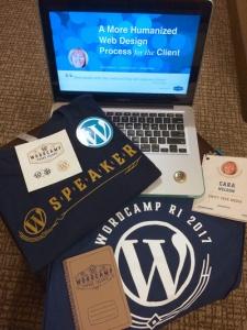 WordCampSpeaker Swag